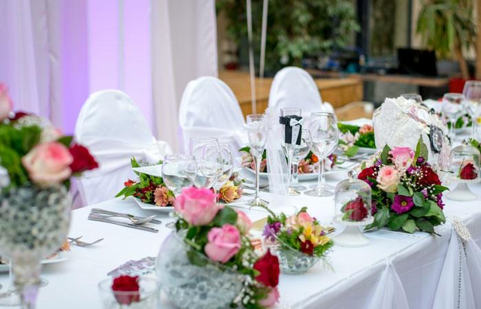 Giai đoạn chuẩn bị tiệc cưới